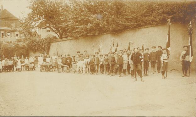 Kinder-Kompanie, 1915